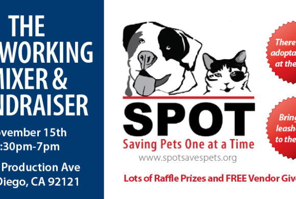 Networking Mixer and Fundraiser for SPOT!!