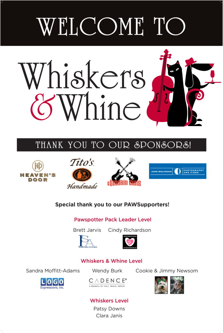Whisker's and Whine Success!!